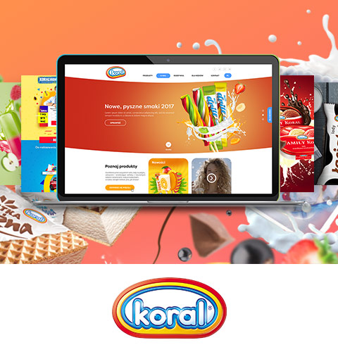 Koral - website