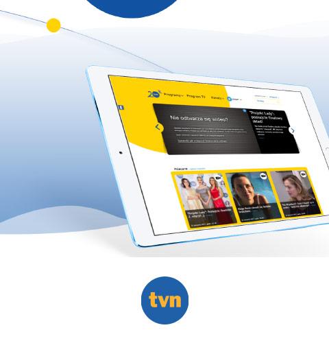 Graal vFrame dla TVN