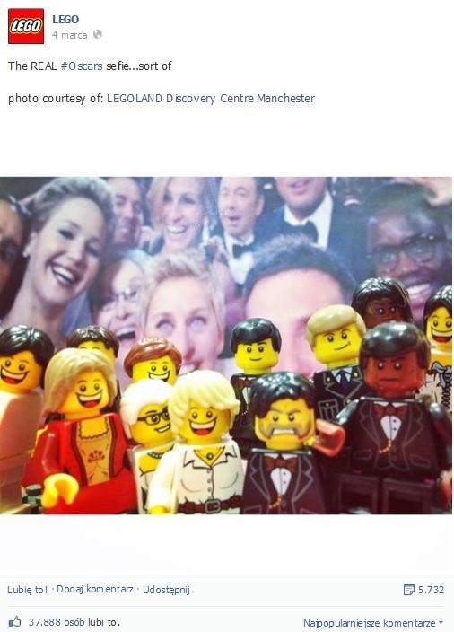 Sprytna odpowiedź marki Lego. Liczba reakcji mówi sama za siebie