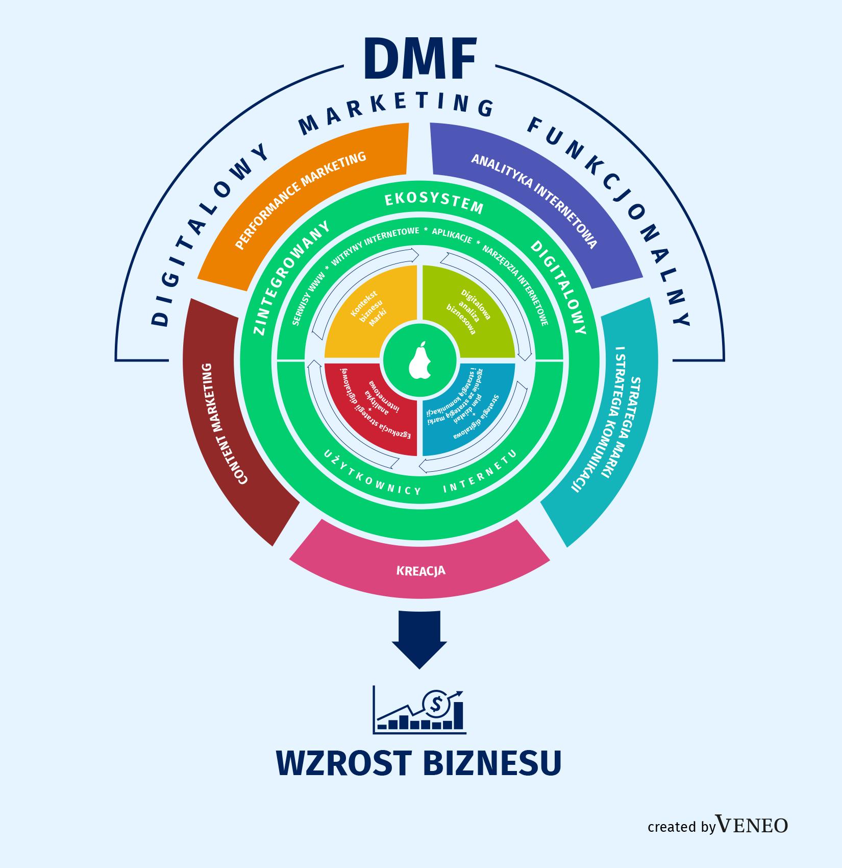 rys. Digitalowy Marketing Funkcjonalny (DMF)