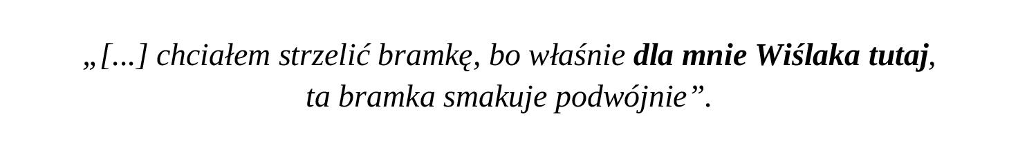 Cyt. Rafał Pietrzak po strzeleniu bramki Cracovii w barwach Lechii Gdańsk