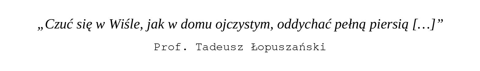 Prof. Tadeusz Łopuszański