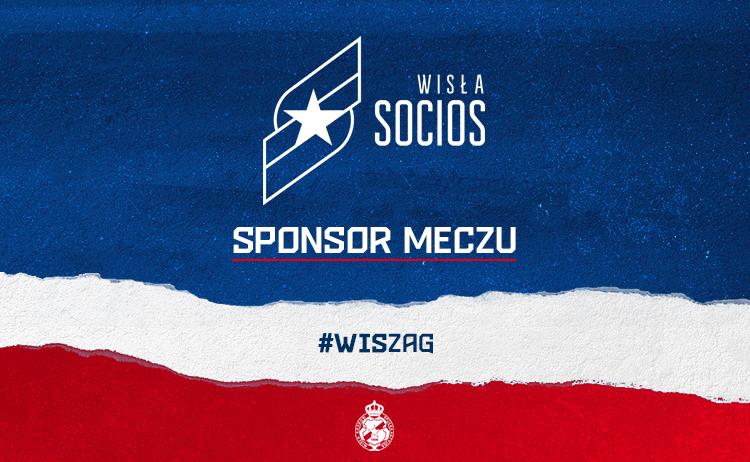 Fot. Socios Wisła jako sponsor konkretnego meczu