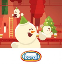 Save Christmas Koral- animation