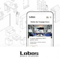 Lobos Meble – internetowa witryna dla mebli biurowych