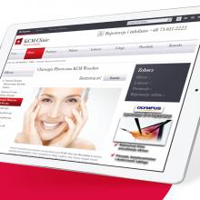 KCM Clinic – rebranding i serwis WWW