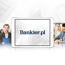 Bankier.pl – identyfikacja wizualna, WWW