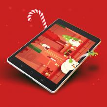 Koral – animacja świąteczna Uratuj święta!