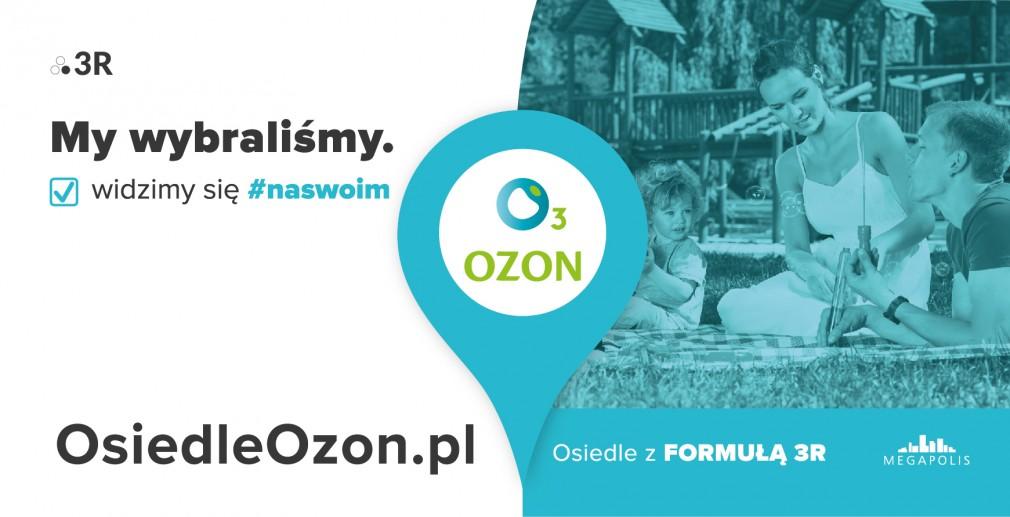 Kampania Osiedla Ozon - odpowiedź na teaser