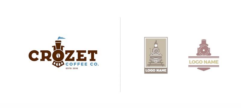 Powodu, dla którego marka Crozet Coffee Co produkująca kawę, zdecydowała się umieścić w swoim logo lokomotywę, należy szukać wertując historię jej założyciela. Można je porównywać z propozycjami szablonowymi jedynie w warstwie wizualnej.
