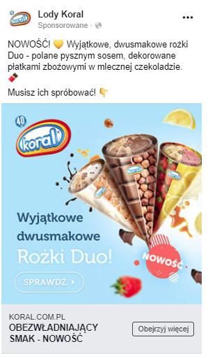 Reklama Różków Duo.