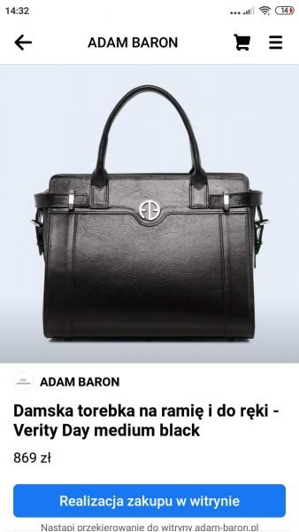 Sklep ADAM BARON na Facebooku